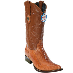 Ostrich Leg 3X Toe Boot WW-29505