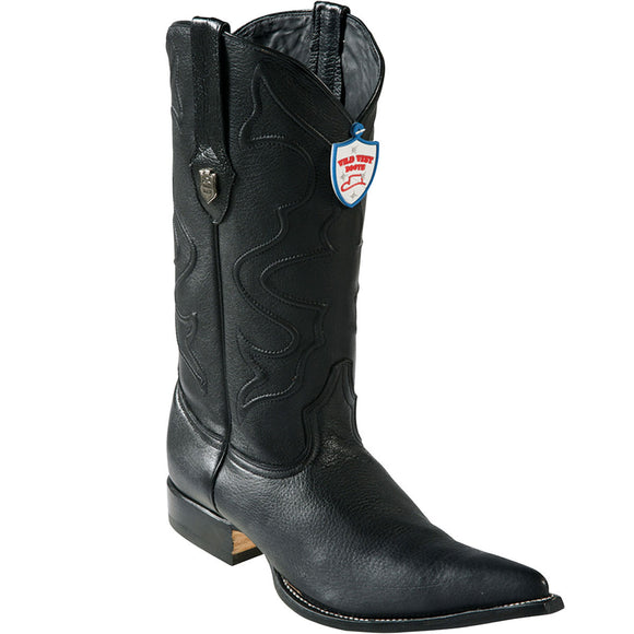 Elk Skin 3X Toe Boot WW-29551