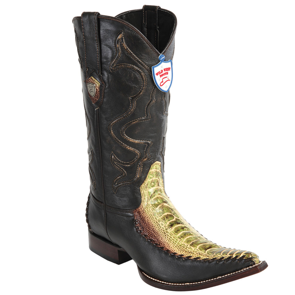 Ostrich Leg 3X Toe Boot WW-295T05