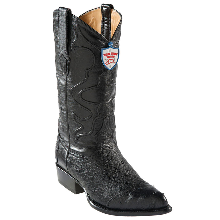Smooth Ostrich J Toe Boot WWB-29904