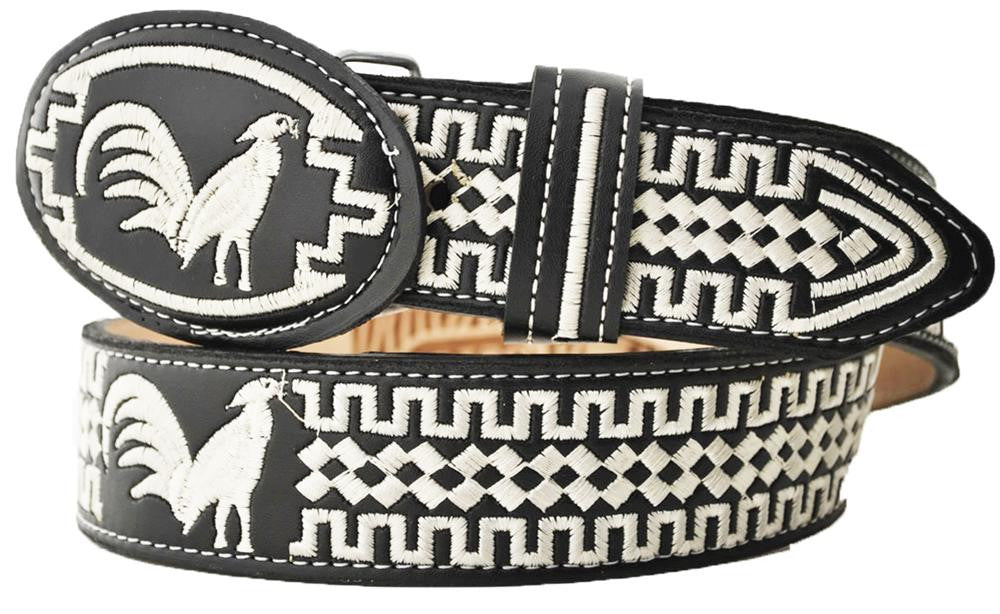 Embroidered Charro Belt IMP-13121