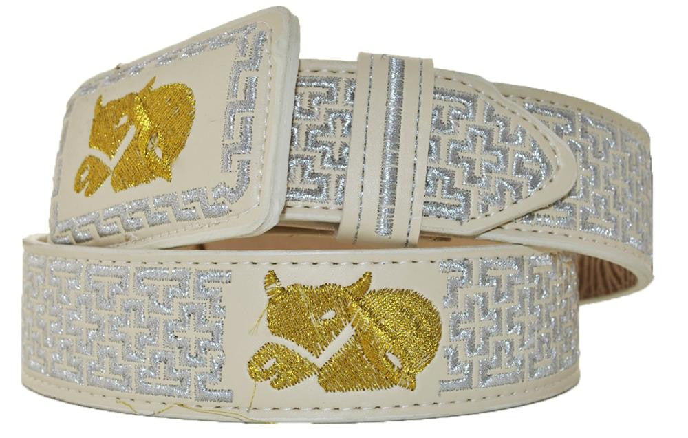 Embroidered Charro Belt IMP-13123