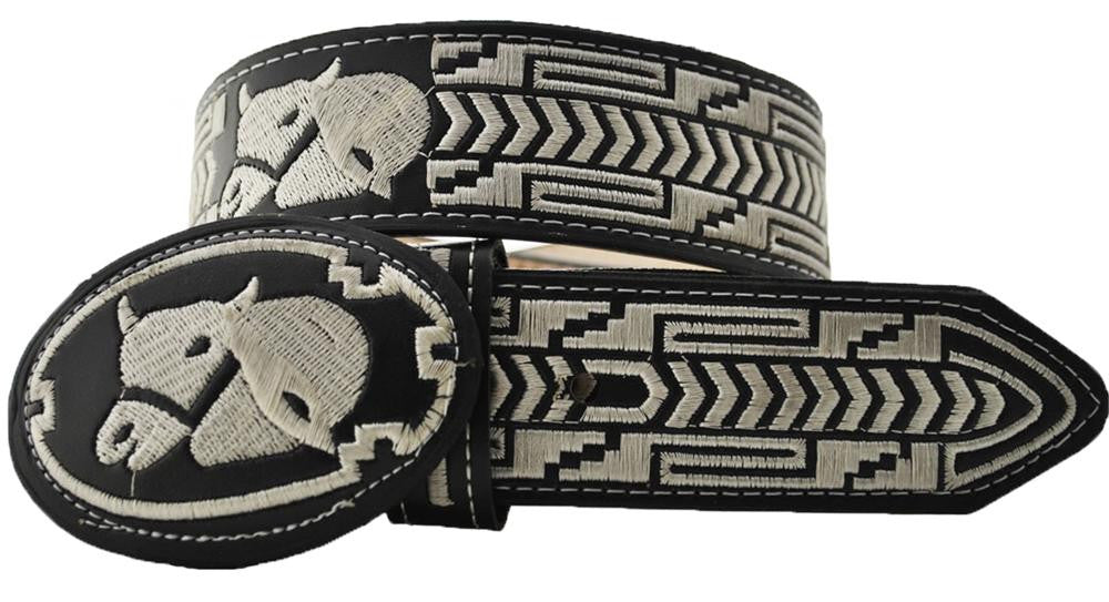 Embroidered Charro Belt IMP-13124