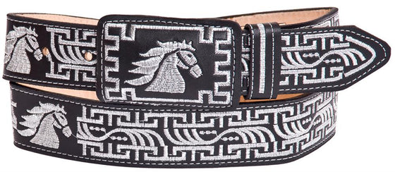 Embroidered Charro Belt IMP-13130