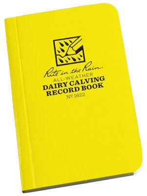 All-Weather Dairy Calving Record Book