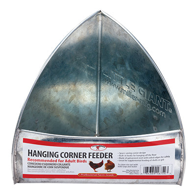 Gakvanized Hanging Corner Feeder