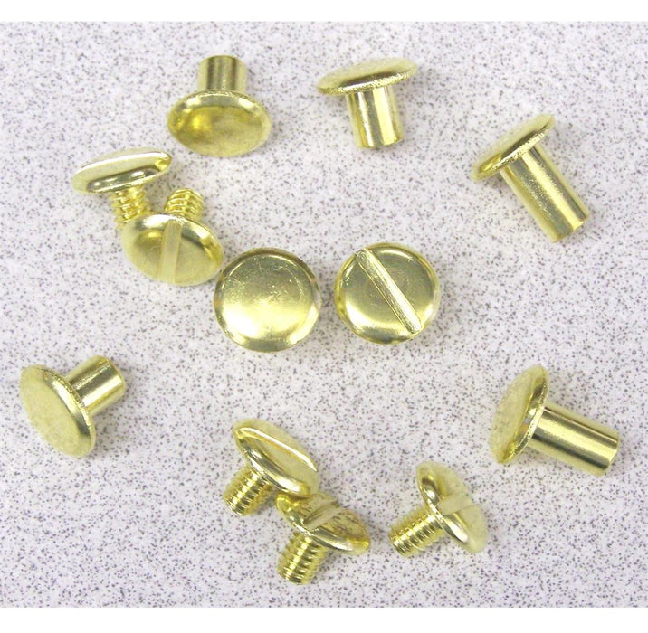 Chicago Screw, Brass