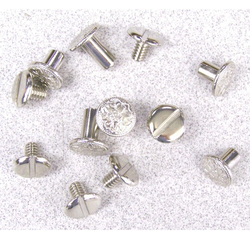 Chicago Screw, Nickel Plated