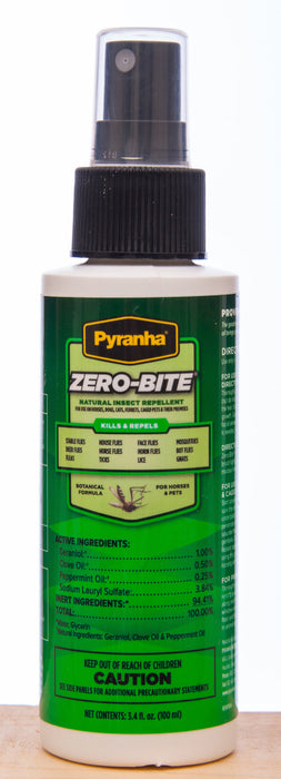 Pyranha Zero-Bite Natural Insect Repellent