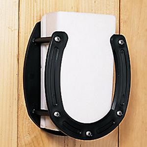 Horse Shoe Salt Block Holder