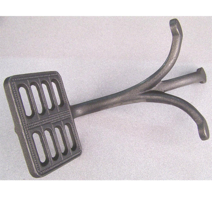 Wagon Step Square Cast Iron-Not Drilled