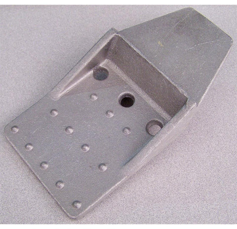 Cart Step Square Aluminum