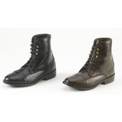 Childern All-Weather Synthetic Laced Paddock Boots