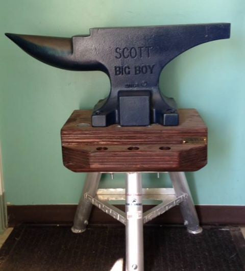 Scott Big Boy Square Back Anvil