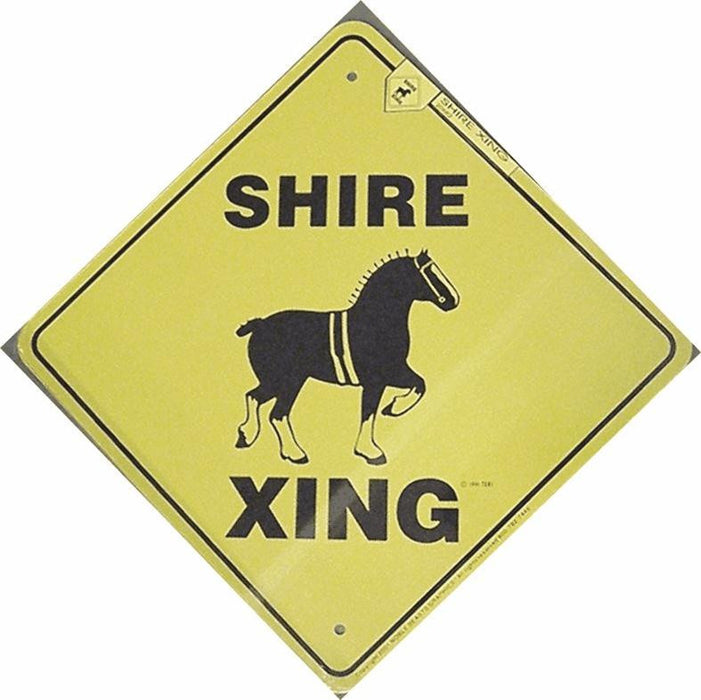 Shire X-Ing Sign