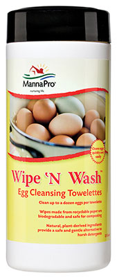 Wipe 'N Wash Egg Cleansing Towelettes