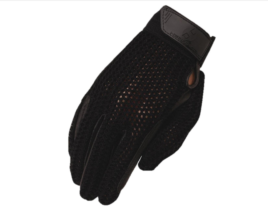 Crochet Riding Gloves / Heritage