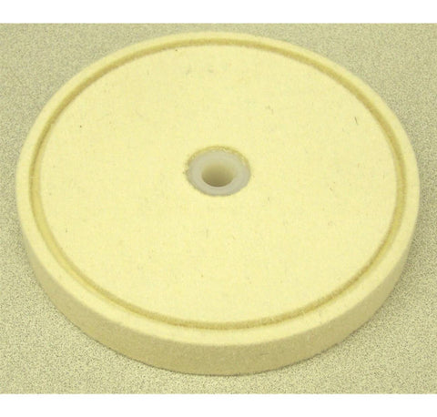 "6"" Felt Wheel W/ Groove 3/4"" Wide"