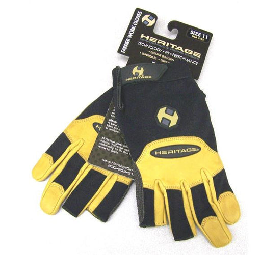 Gloves, Farrier Work Open Finger #11Xl