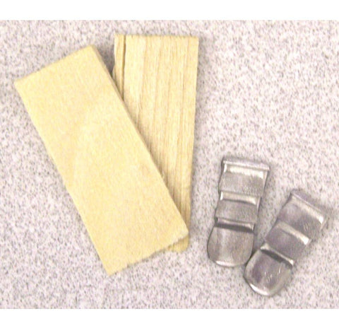 Hammer Head Wedges - Small (2/Pk)