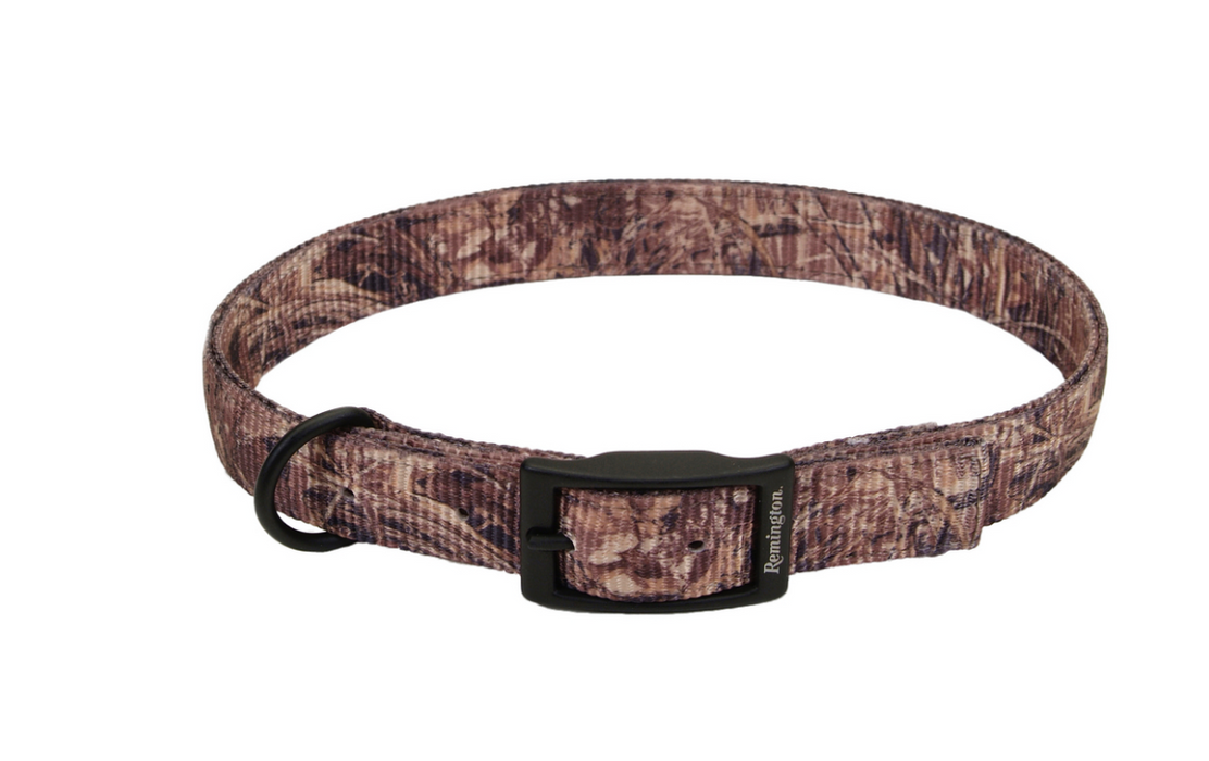 "Remington Patterned 1"" Double Ply Nylon Hound Collar"
