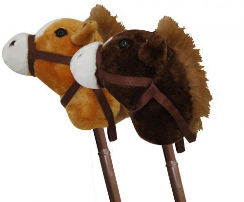 Stick Horse With Telescopic Pole And Sounds
