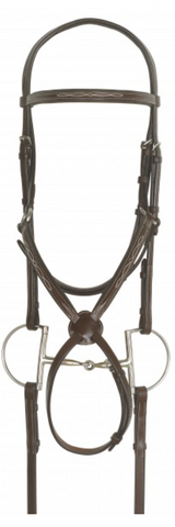 Brown Figure 8 Bridle