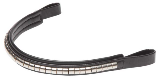 Silver Clincher Bridle Browband