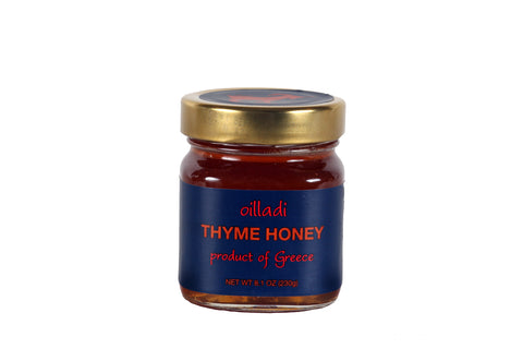 Oilladi thyme honey imported from the islands of Greece