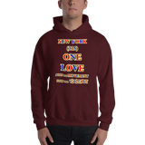 1396 - H ... NEW YORK ... Area Code 315 ... ONE LOVE ... STOP THE VIOLENCE ... HOODIE