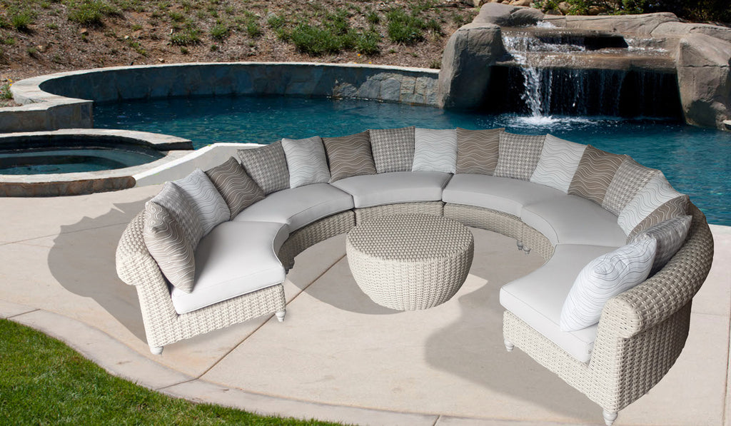 square sofa microfiber vs sectional home round ideas collection