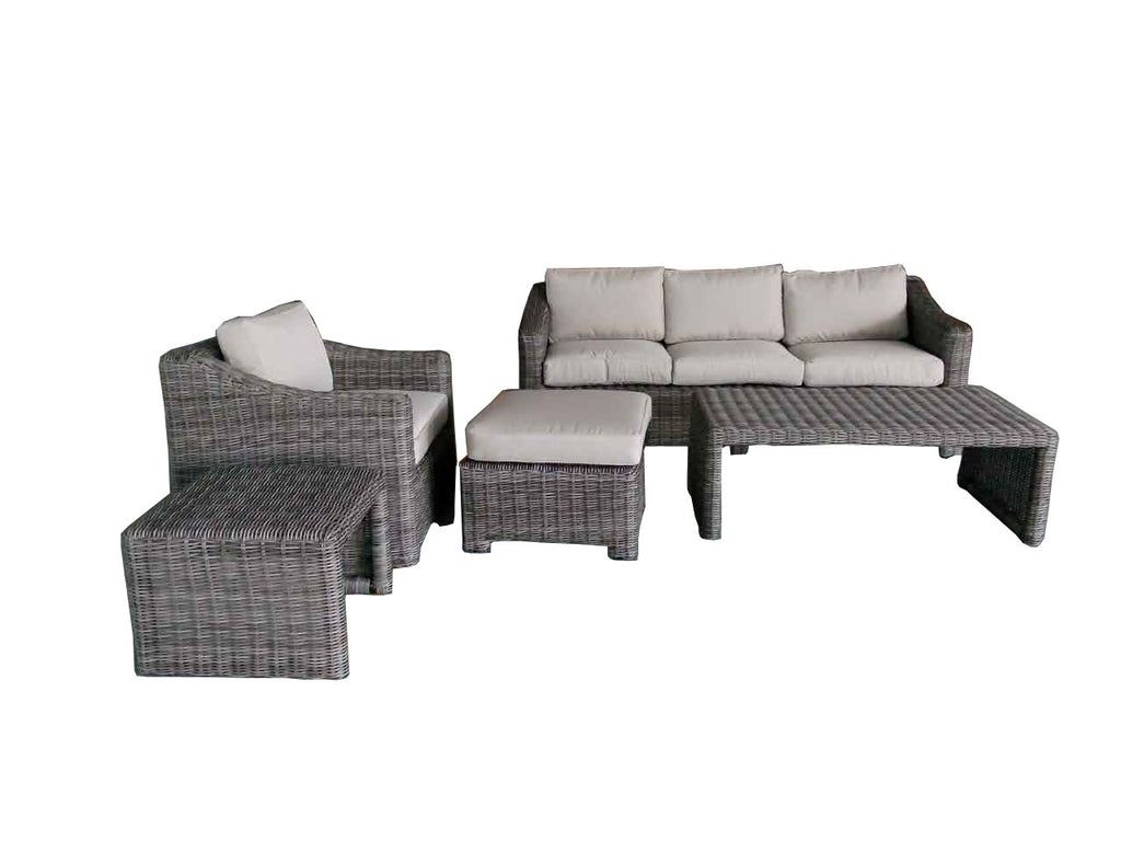 Sale sonoma valley 5 piece sectional patio set assembled with cushions