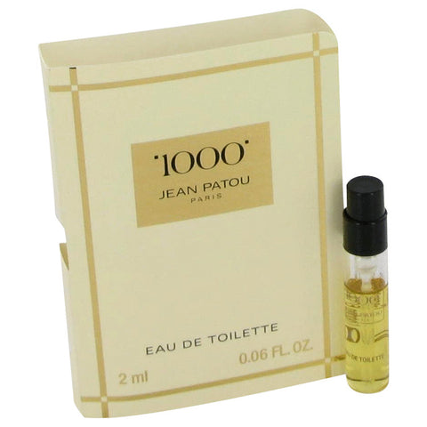 1000 By Jean Patou Vial (Sample) .06 Oz / 2 Ml For Women