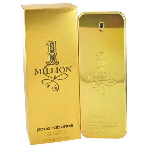1 Million By Paco Rabanne Eau De Toilette Spray 6.7 Oz / 200 Ml For Men