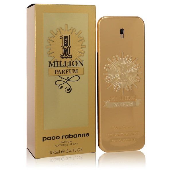 1 Million Parfum By Paco Rabanne Parfum Spray 3.4 Oz / 100 Ml For Men