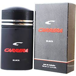 Carrera Black By Muelhens Edt Spray 3.4 Oz For Men