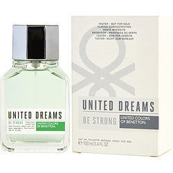 Benetton United Dreams Be Strong By Benetton Edt Spray 3.4 Oz *Tester For Men