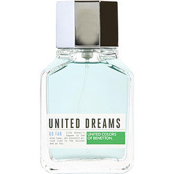 Benetton United Dreams Go Far By Benetton Edt Spray 3.4 Oz *Tester For Men