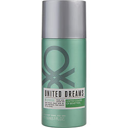 Benetton United Dreams Be Strong By Benetton Deodorant Spray 5 Oz For Men