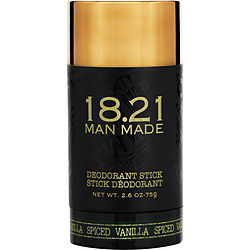 18.21 Man Made By 18.21 Man Made Deodorant Spiced Vanilla 2.6 Oz For Men