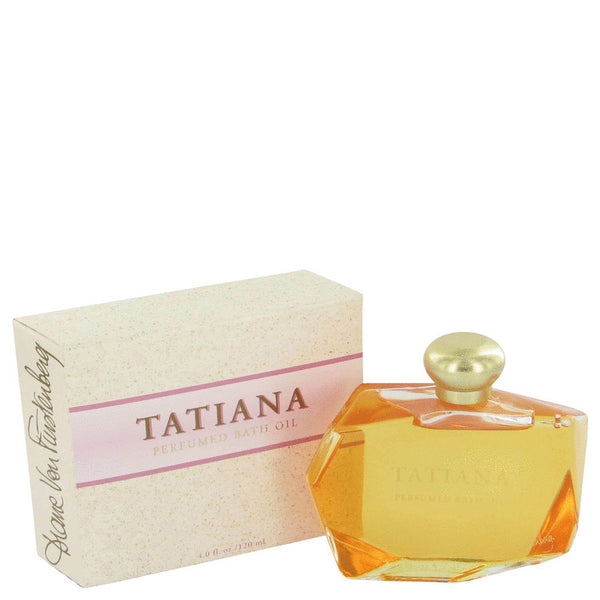 Tatiana By Diane Von Furstenberg Bath Oil 4 Oz / 120 Ml For Women