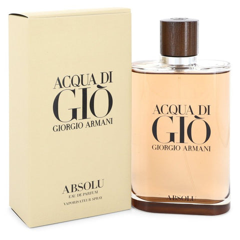 Acqua Di Gio Absolu By Giorgio Armani Eau De Parfum Spray 6.7 Oz / 200 Ml For Men