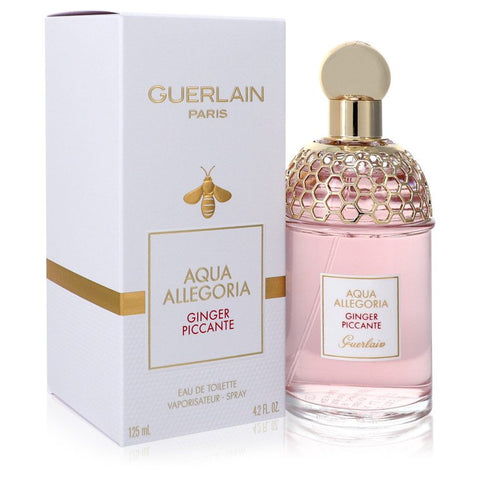 Aqua Allegoria Ginger Piccante By Guerlain Eau De Toilette Spray (Unisex) 4.2 Oz / 125 Ml For Women