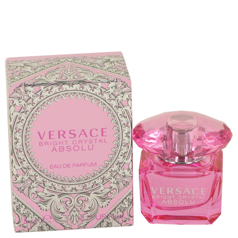 Bright Crystal Absolu By Versace Mini Edp .17 Oz / 5 Ml For Women