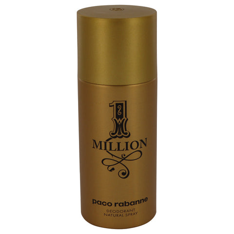 1 Million By Paco Rabanne Deodorant Spray 5 Oz / 150 Ml For Men