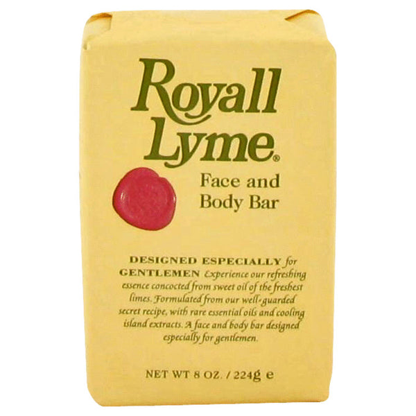 Royall Lyme By Royall Fragrances Face And Body Bar Soap 8 Oz / 240 Ml For Men