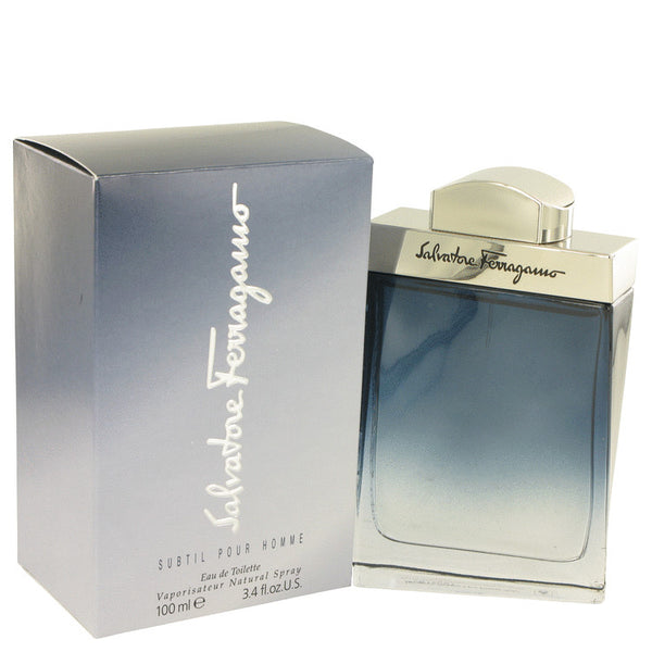 Subtil By Salvatore Ferragamo Eau De Toilette Spray 3.4 Oz / 100 Ml For Men