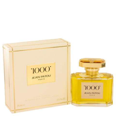1000 By Jean Patou Eau De Parfum Spray 2.5 Oz / 75 Ml For Women