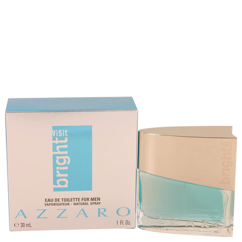 Azzaro Bright Visit By Azzaro Eau De Toilette Spray 1 Oz / 30 Ml For Men