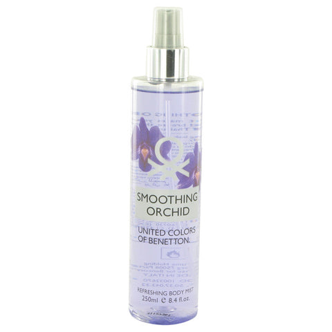 Benetton Smoothing Orchid By Benetton Refreshing Body Mist 8.4 Oz / 248 Ml For Women